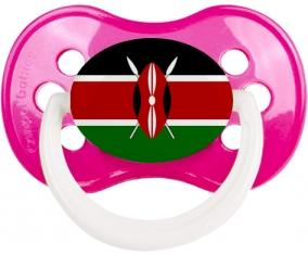 Drapeau Kenya Tétine Anatomique Rose foncé classique