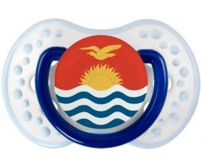 Drapeau Kiribati Sucette LOVI Dynamic Marine-blanc-bleu classique