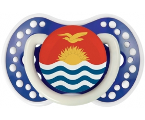 Drapeau Kiribati Sucette LOVI Dynamic Bleu-marine phosphorescente