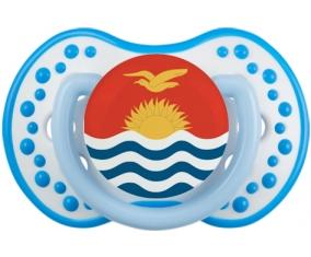 Drapeau Kiribati Sucette LOVI Dynamic Blanc-bleu phosphorescente