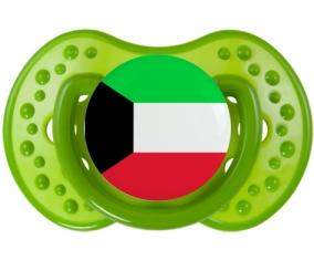 Drapeau Koweit : Sucette LOVI Dynamic personnalisée