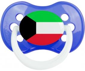 Drapeau Koweit : Sucette Anatomique personnalisée