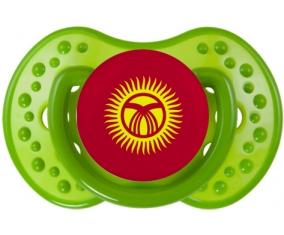 Drapeau Kirghizistan Tétine LOVI Dynamic Vert classique