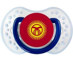 Drapeau Kirghizistan Tétine LOVI Dynamic Marine-blanc-bleu classique