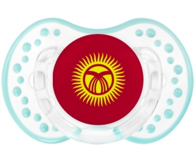 Drapeau Kirghizistan Tétine LOVI Dynamic Retro-blanc-lagon classique