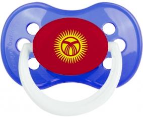 Drapeau Kirghizistan : Sucette Anatomique personnalisée