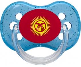 Drapeau Kirghizistan : Sucette Cerise personnalisée