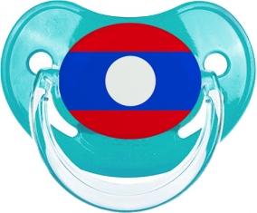 Drapeau Laos : Sucette Physiologique personnalisée