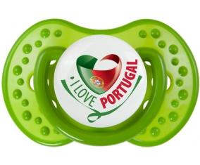 I Love Portugal design 2 : Sucette LOVI Dynamic personnalisée