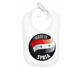 Made in SYRIA : Bavoir bébé