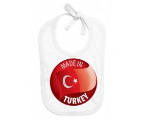 Made in TURKEY : Bavoir bébé