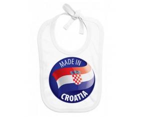 Made in CROATIA : Bavoir bébé