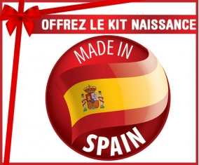 Kit naissance : Made in SPAIN