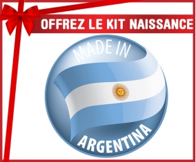 Kit naissance : Made in ARGENTINA