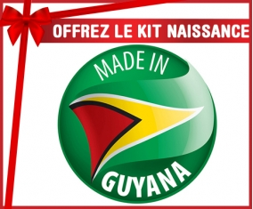 Kit naissance : Made in GUYANA