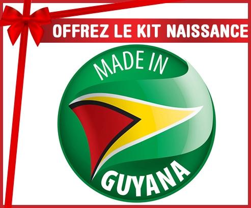 Kit naissance : Made in GUYANA