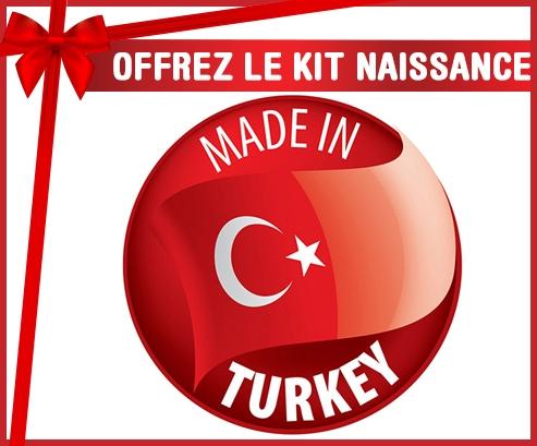 Kit naissance : Made in TURKEY