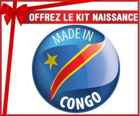 Kit naissance : Made in CONGO