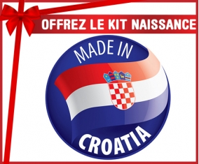Kit naissance : Made in CROATIA
