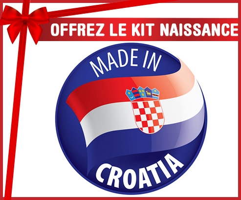 Kit naissance : Made in CROATIA