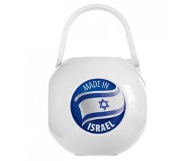 Boîte à sucette Made in ISRAEL de couleur Blanche