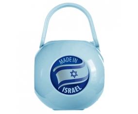 Boîte à sucette Made in ISRAEL de couleur Bleue