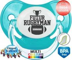Futur rugbyman : Sucette Physiologique personnalisée