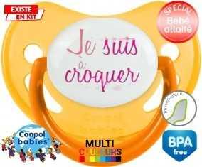 Je suis à croquer modèle fille: Sucette Physiologique-su7.fr