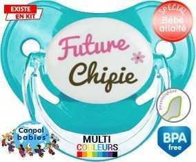 Future chipie : Sucette Physiologique personnalisée
