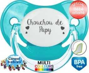 Tetine Chouchou de papy embout Physiologique personnalisée