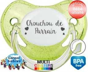 Chouchou de parrain: Sucette Physiologique-su7.fr