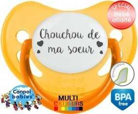 Chouchou de ma soeur: Sucette Physiologique-su7.fr