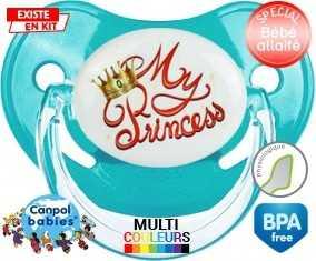 My princess : Sucette Physiologique personnalisée