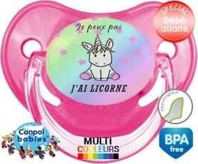 Je peux pas j'ai licorne: Sucette Physiologique-su7.fr