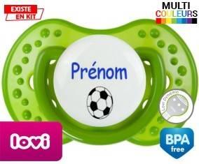Ballon foot + prénom: Sucette LOVI Dynamic-su7.fr