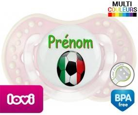 Ballon foot Italie + prénom: Sucette LOVI Dynamic-su7.fr