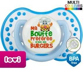 Ma bouffe préférée c'est les burgers: Sucette LOVI Dynamic-su7.fr