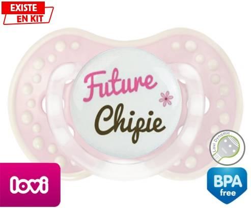 Sucette Future chipie Embout Cerise personnalisé aa6022c4207