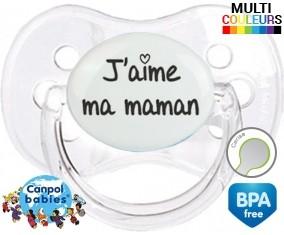 J'aime ma maman (visuel): Sucette Cerise-su7.fr
