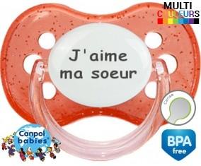 J'aime ma soeur: Sucette Cerise-su7.fr