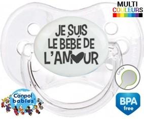 Originale je suis le bébé de l'amour: Sucette Cerise-su7.fr