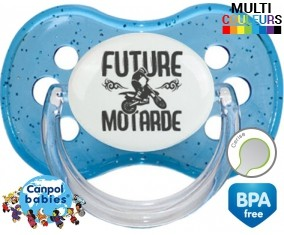 Future motarde style1 : Sucette Cerise personnalisée