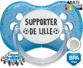 Foot supporter lille: Sucette Cerise personnalisée - su7.fr
