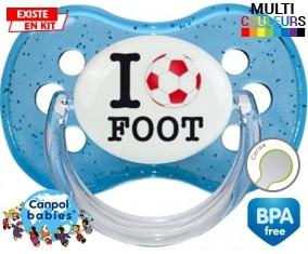 I love foot : Sucette Cerise personnalisée