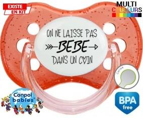 On ne laisse pas bébé dans un coin: Sucette Cerise-su7.fr