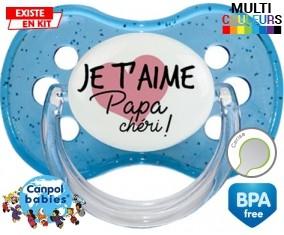 Je t'aime papa chéri style1: Sucette Cerise-su7.fr