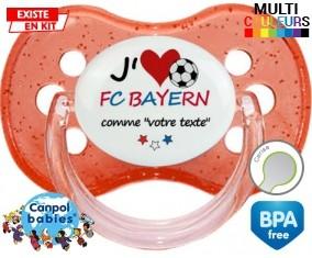 J'aime fc bayern + prénom: Sucette Cerise-su7.fr