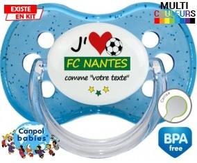 J'aime fc nantes + prénom: Sucette Cerise-su7.fr