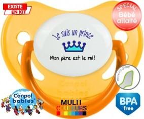 Je suis un prince Mon père est le roi: Sucette Physiologique-su7.fr