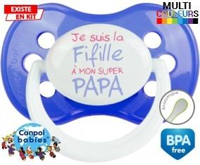 Je suis la fifille à mon super papa: Sucette Anatomique-su7.fr
